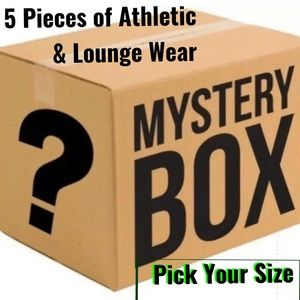 Mystery Box 5 Items Athletic & Lounge Wear 3 NWOT